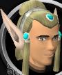 Elf-style wig chathead