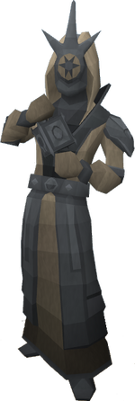 Fine mage statue
