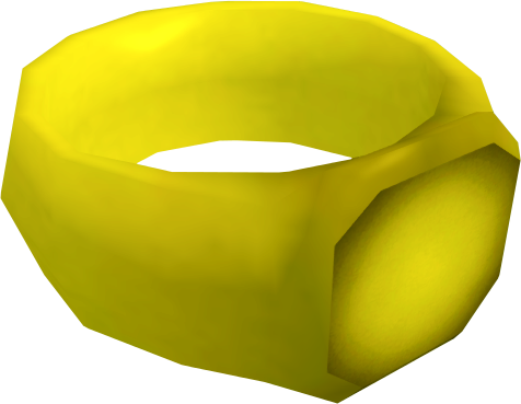 how to make a gold ring in runescape