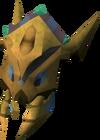 Scabaras mask detail