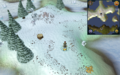 Scan clue Fremennik Isles by eastern woodcutting stump on south-west snowy island.png