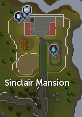 Sinclair Mansion map