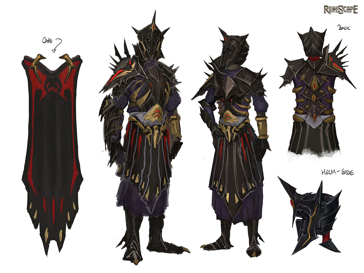Warpriest Of Zamorak Armour Runescape Wiki Fandom Powered By Wikia