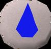Water rune (Dungeoneering) detail