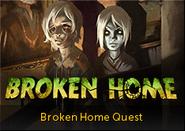 Broken home lobby banner