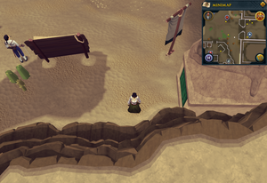 Compass clue Al Kharid Duel Arena entrance
