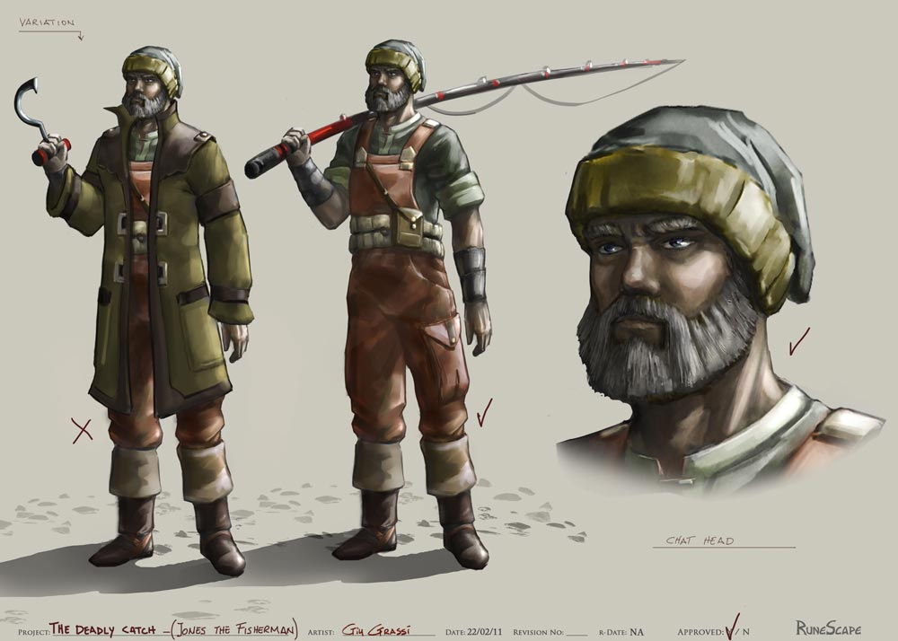 Concept Art Dd Fisherman