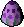Festive egg (hay bale)