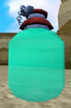 Perfect juju fishing flask detail
