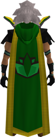 Retro hooded herblore cape (t) equipped