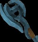 Rune battleaxe detail