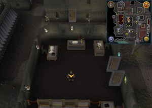 Scan clue Keldagrim inside the bank