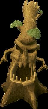 Yew evil tree