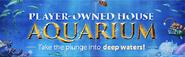 Aquarium lobby banner