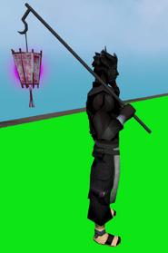 Blossom lantern equipped