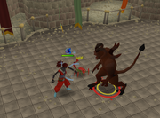 Lesser Demon Champion fight