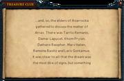 List of elders interface