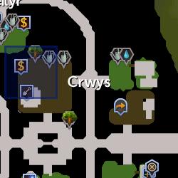 Lord Crwys location