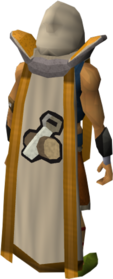 Retro construction cape (t) equipped