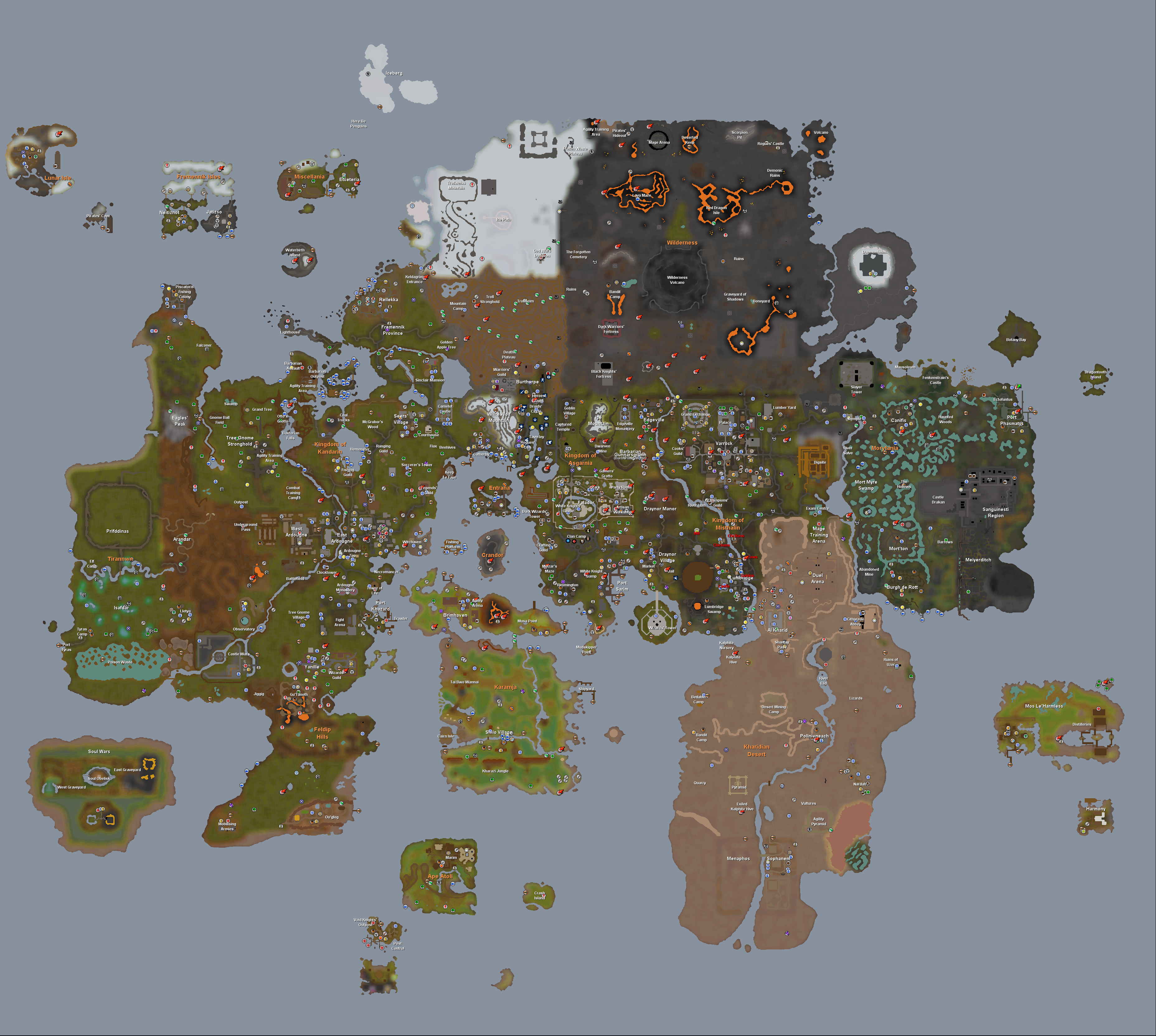 World maphistory runescape wiki fandom powered by wikia gumiabroncs Gallery