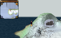 Scan clue Fremennik Isles west tip of north snowy island.png