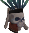 Spirit hunter outfit helmet chathead