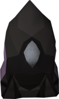 Void knight mage helm detail