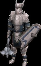 White Knight (Invasion of Falador) (male)(shield)