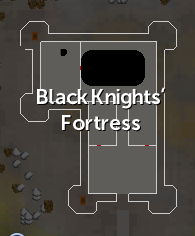 Black Knights' Fortress map