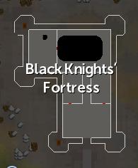Black Knights' Fortress map