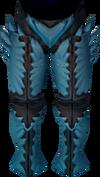 Crystal legs detail
