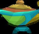 Large prismatic lamp