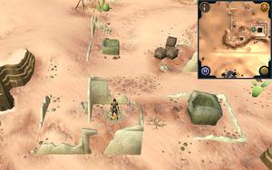Scan clue Kharidian Desert inside house in Uzer