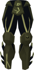 Sirenic chaps (barrows) detail