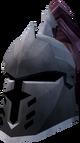 Steel heraldic helm (HAM) detail