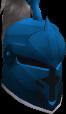 Steel heraldic helm (Saradomin) chathead