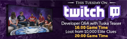 Twitch developer QA lobby banner 3