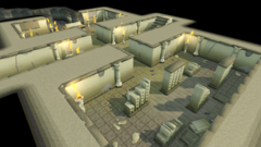 Uzer Mastaba inside