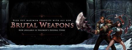Brutal Weapons banner