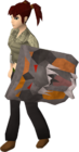 Dragonfire shield equipped old