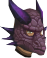 Dragonstone dragon mask chathead
