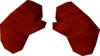 Gloves (red) detail
