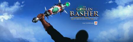 Goblin basher head banner