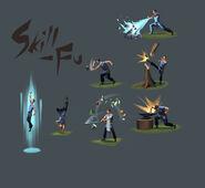 Skill-Fu concept art