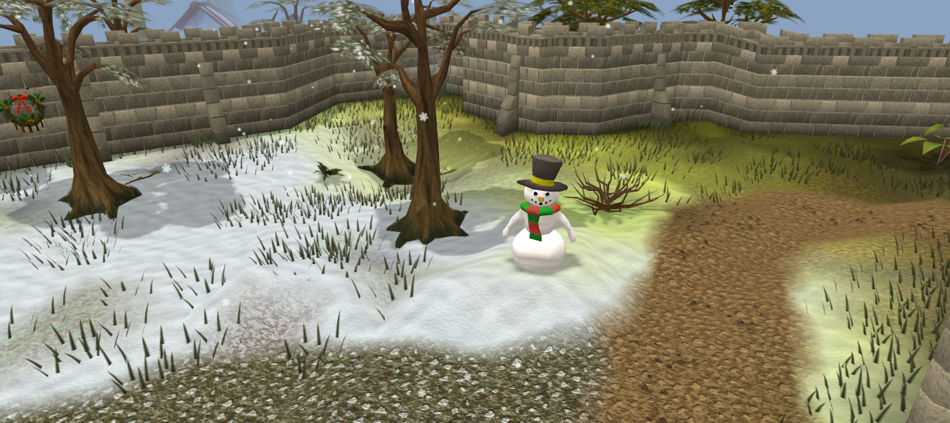 Snowman Traditional Runescape Wiki Fandom Powered By Wikia