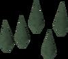 Adamant arrowheads detail
