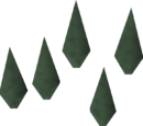 Adamant arrowheads