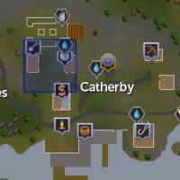 Catherby Teleport location