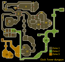 Clocktower dungeon