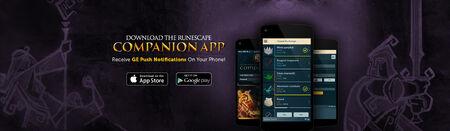 Companion App head banner